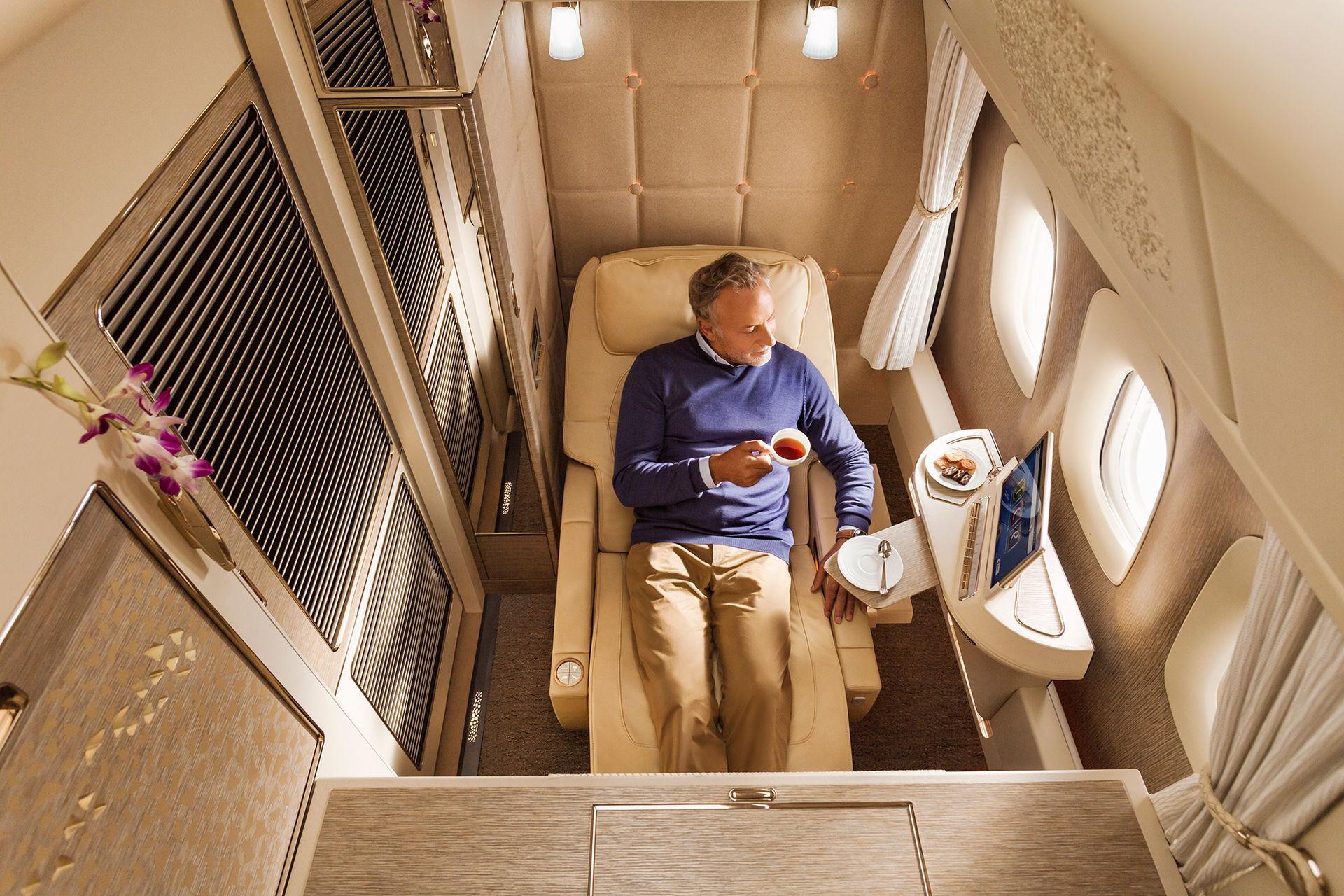 Jeremy Clarkson gör reklam för Emirates