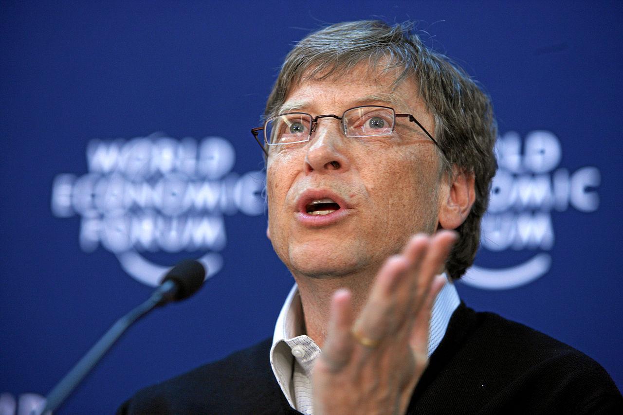 Bill Gates ska bekämpa alzheimers sjukdom