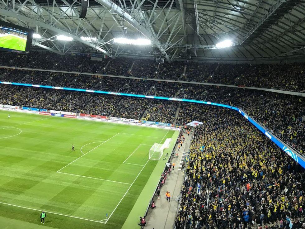 VM-playoff gav tittarrekord för Kanal 5