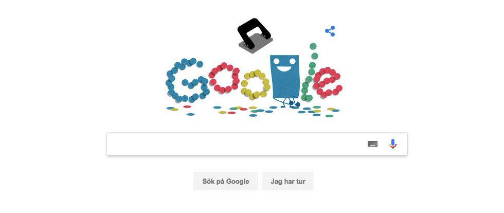 Google uppmärksammar hålslagaren