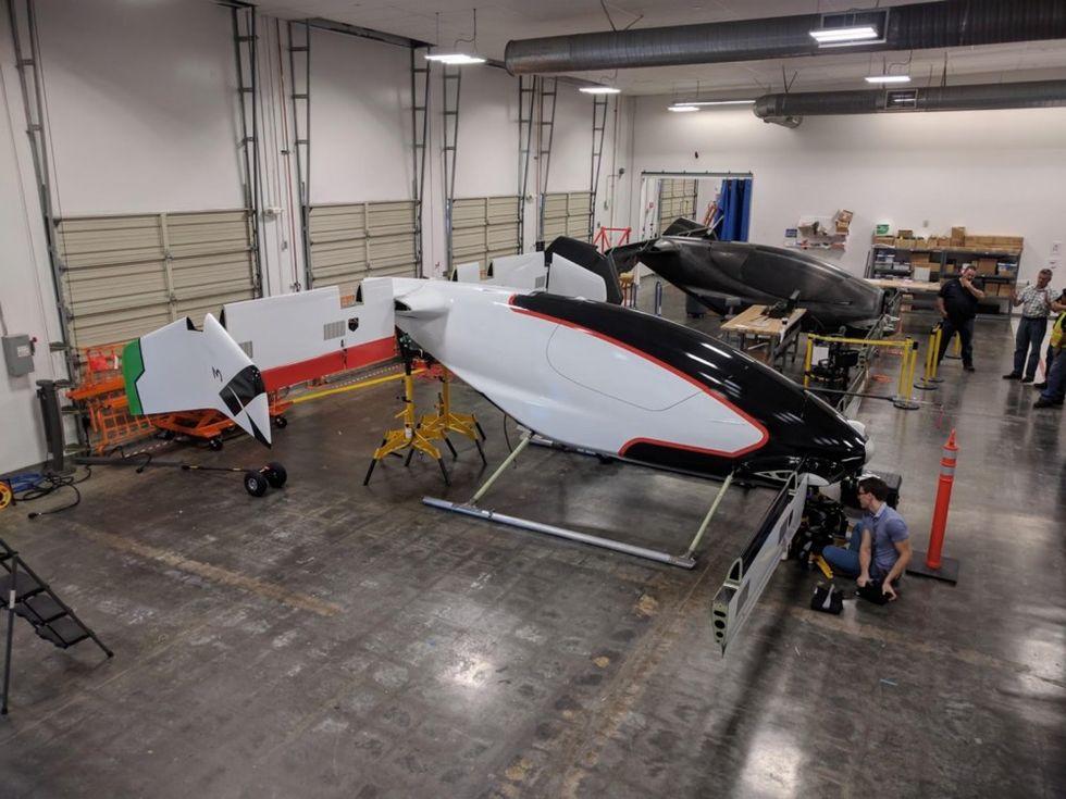 Snart ska Airbus testa sin flygande taxi Vahana