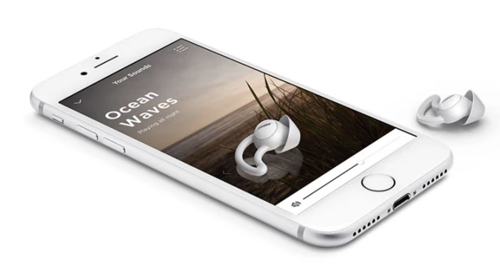 Bose utvecklar hörlurar för bättre sömn