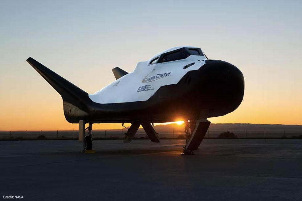 Sierra Nevada har testflugit rymdplanet Dream Chaser