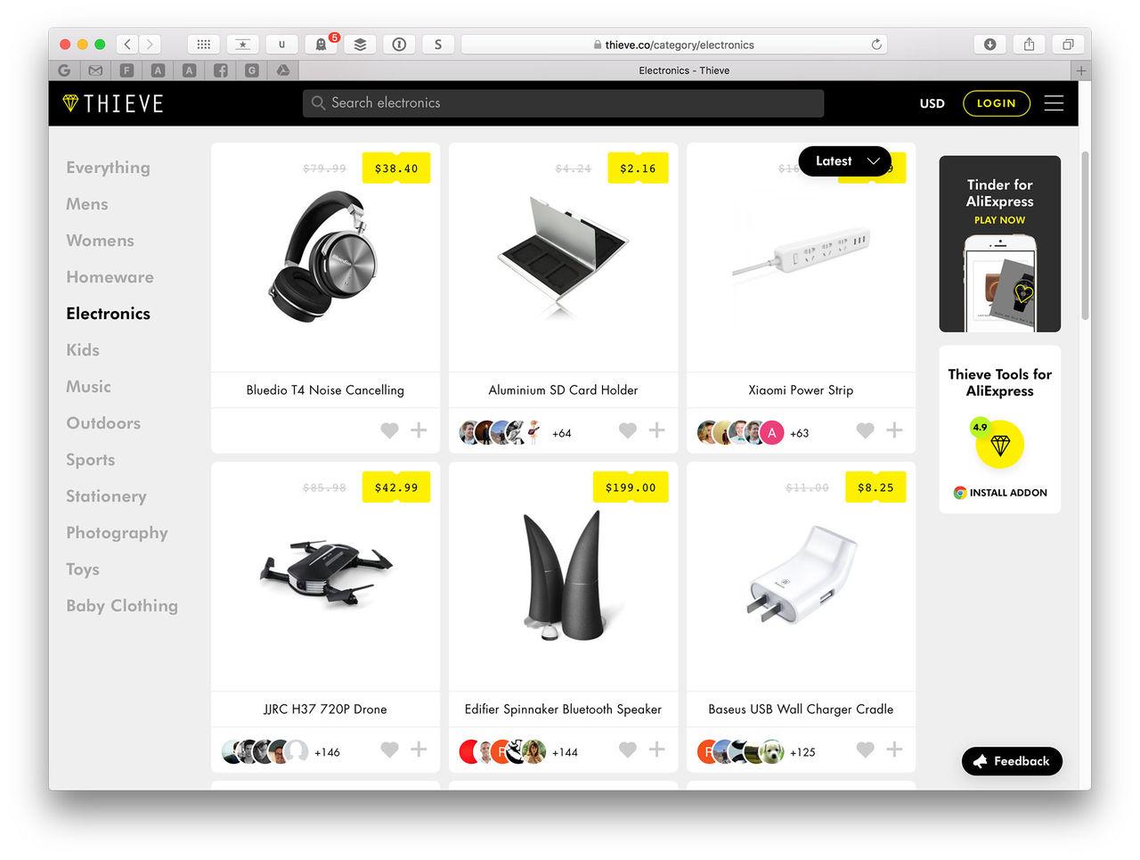 Hitta de bästa sakerna på AliExpress
