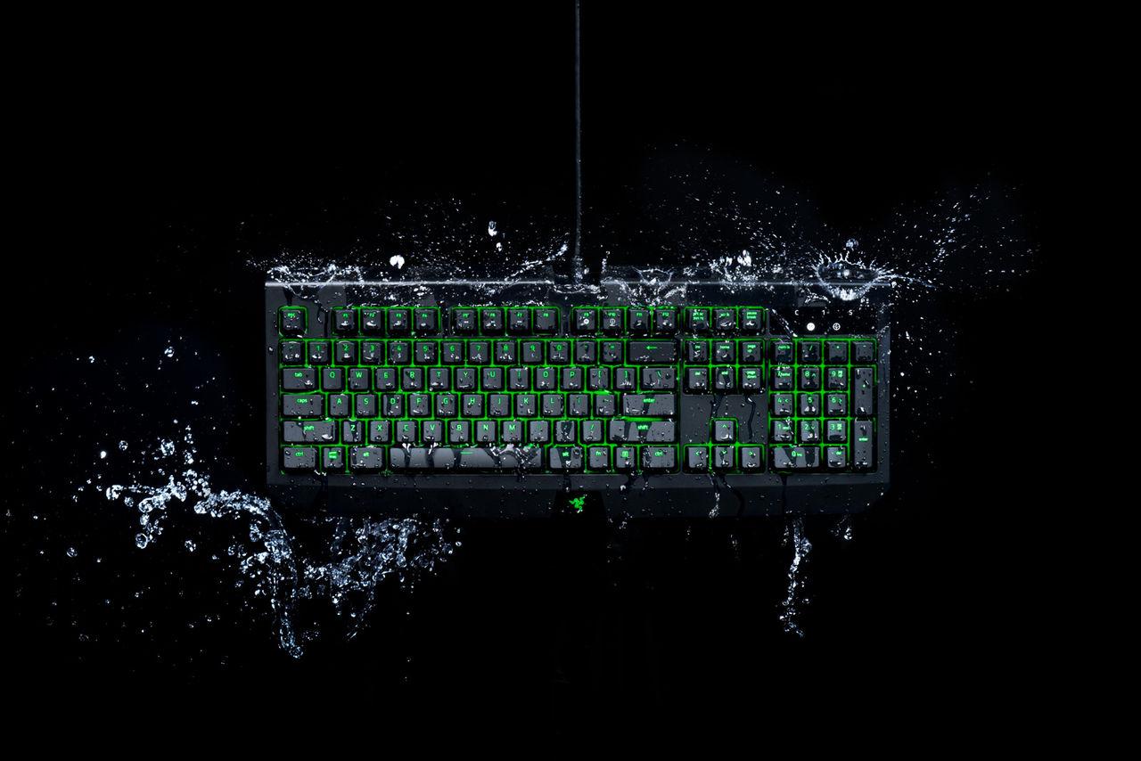 Razer uppdaterar Blackwidow Ultimate med stänktålighet
