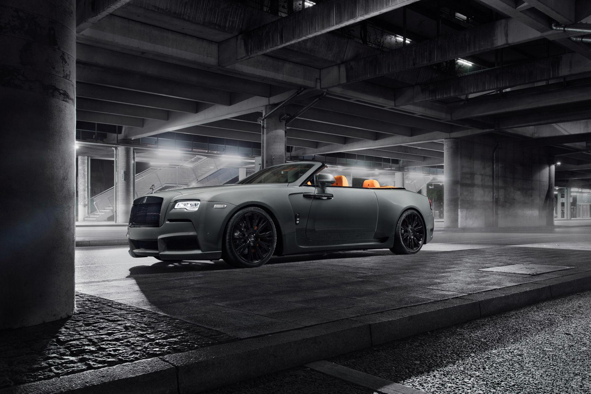 Rolls-Royce Dawn med extra breda höfter
