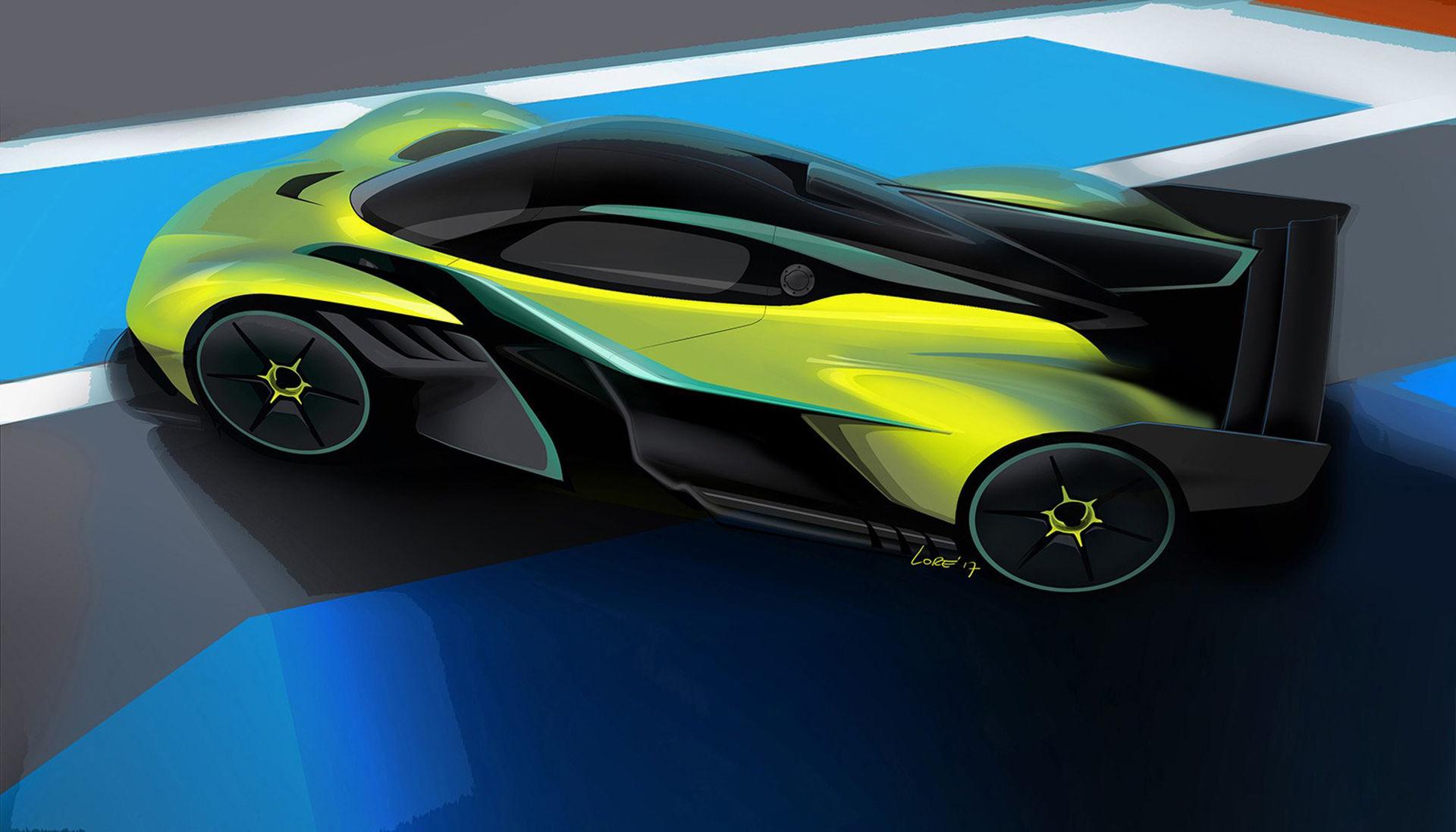 Aston Martin presenterar Valkyrie för banan