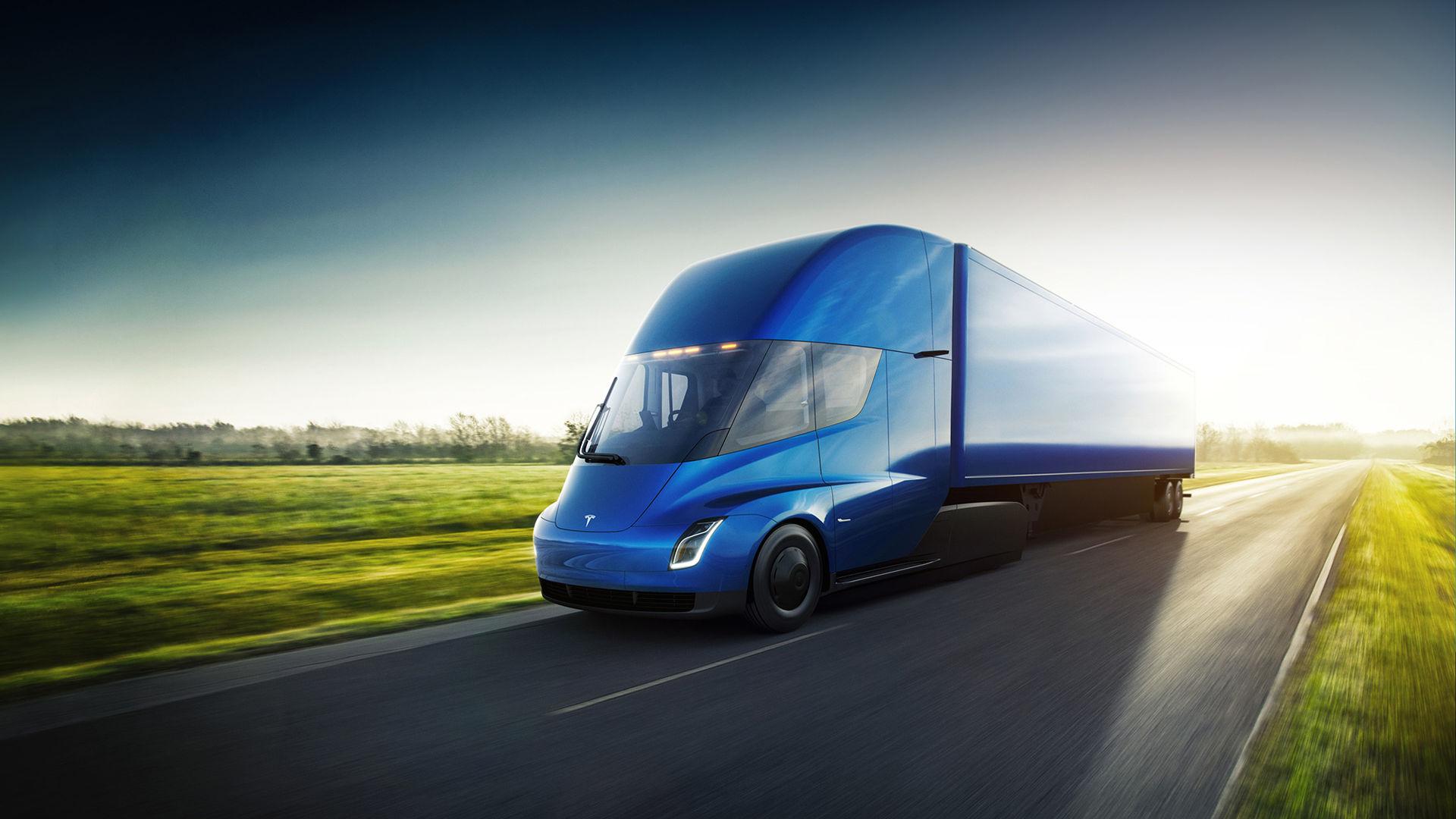 Teslas lastbil är här och siffrorna imponerar!