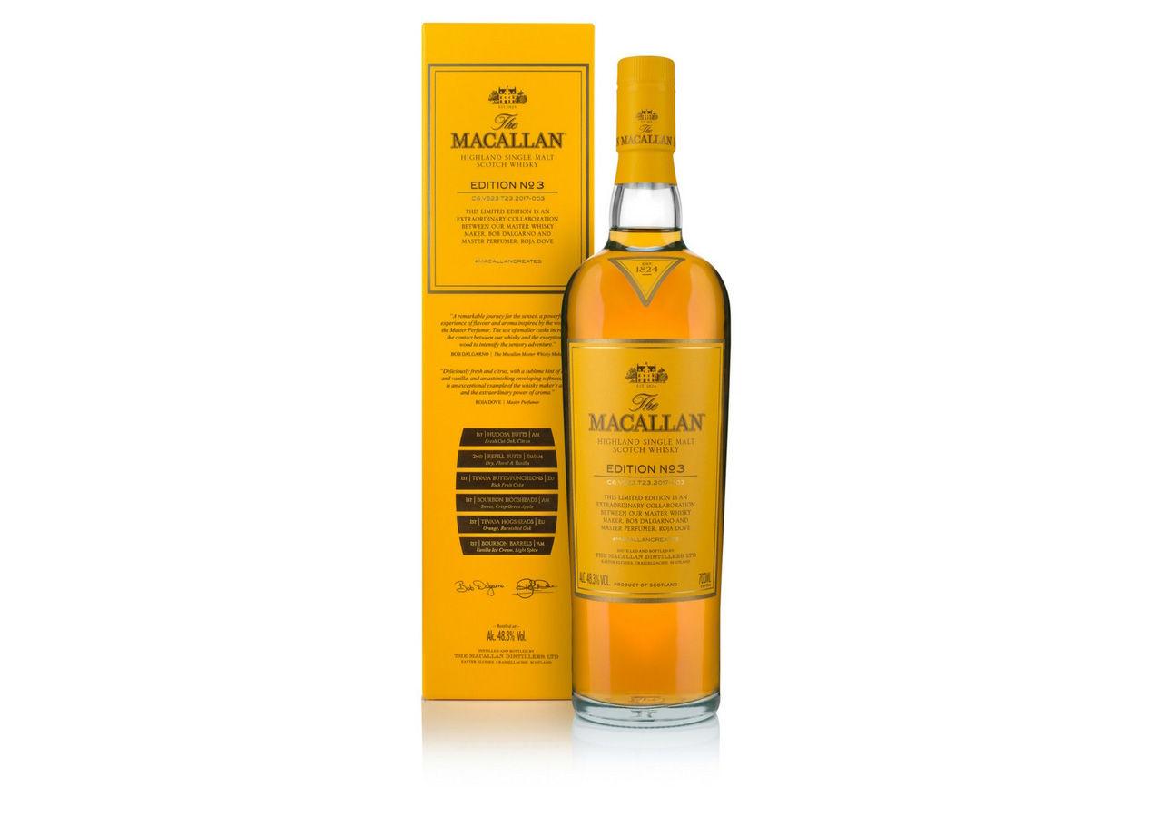I dag lanseras The Macallan Edition No.3