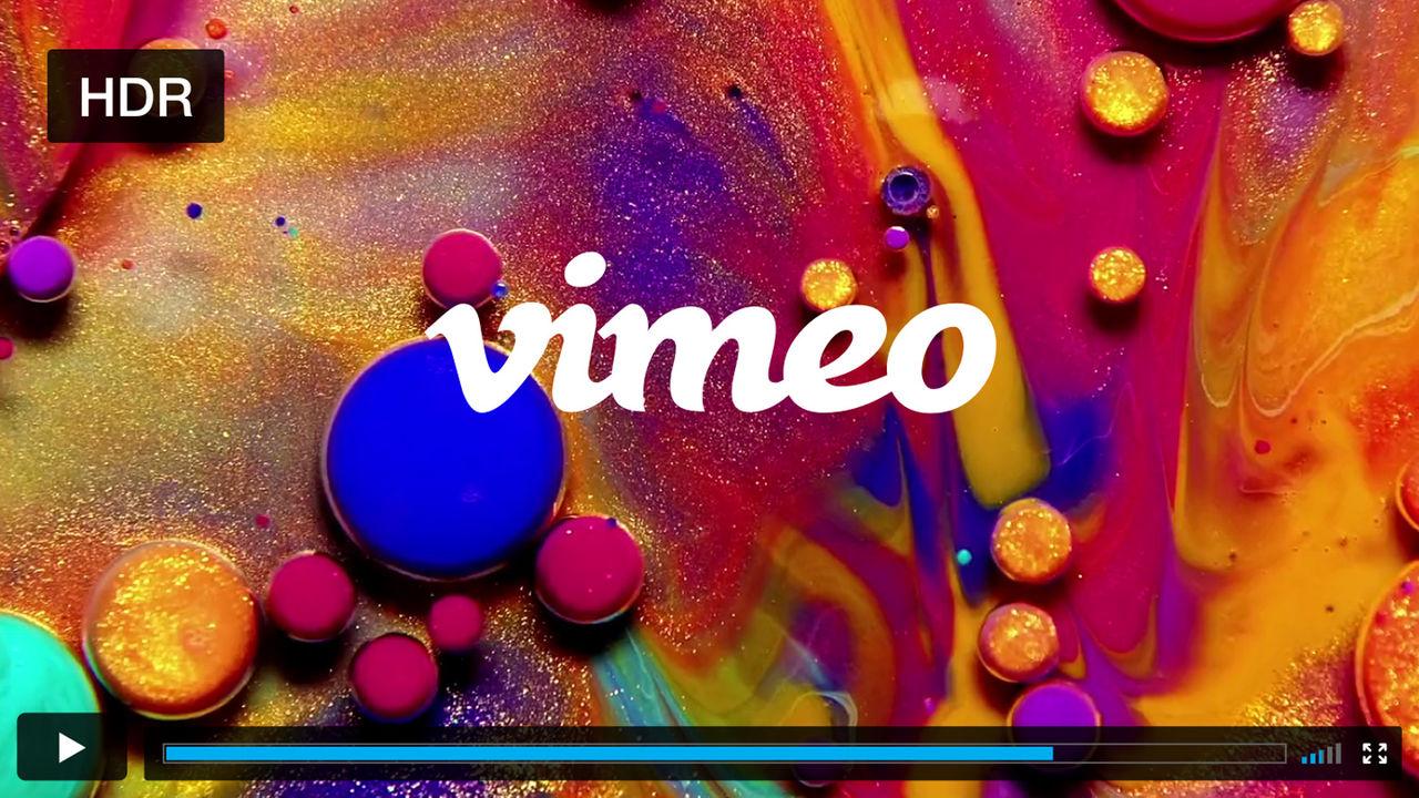 Vimeo har nu stöd för HDR-videor