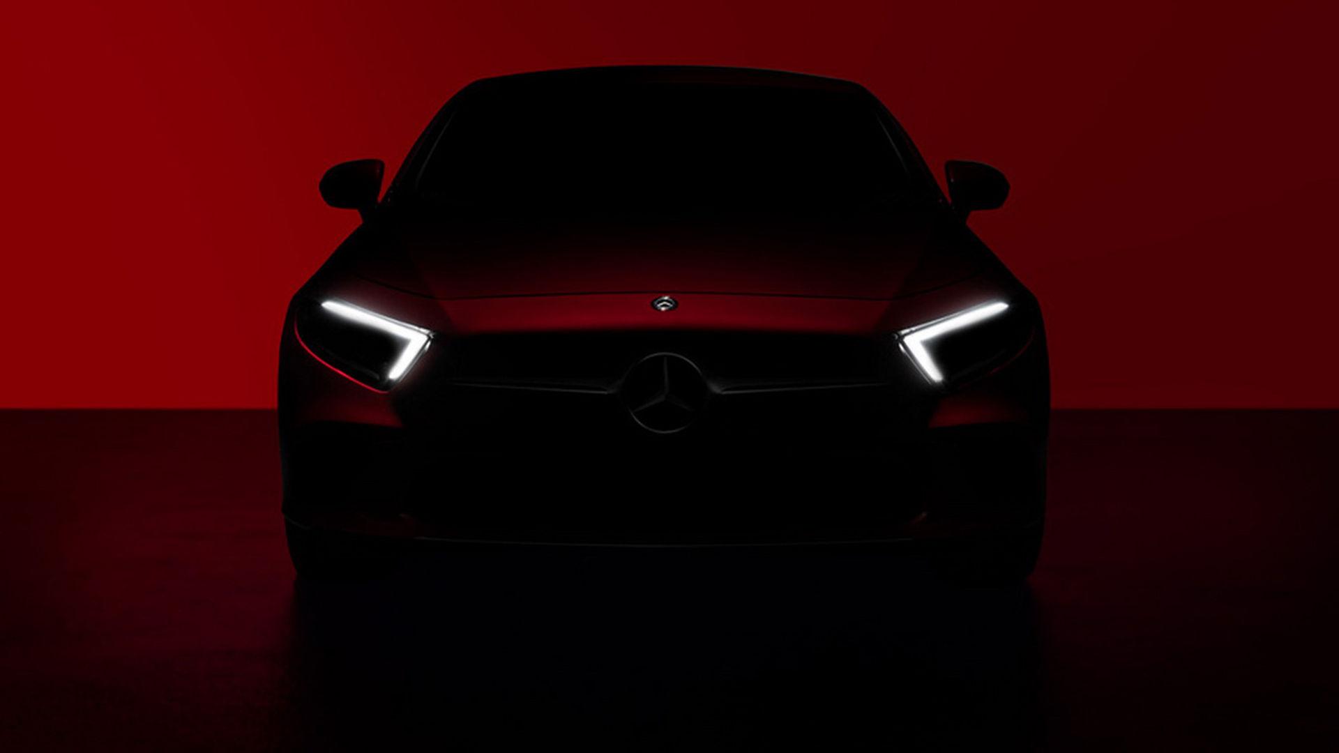 Det här är Mercedes CLS nya ansikte