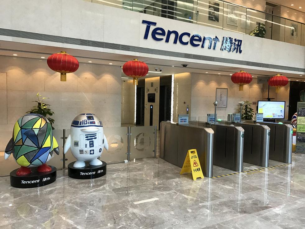 Tencent nu mer värt än Facebook