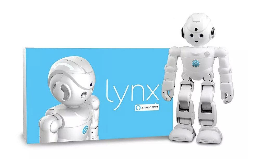 Lynx är en robot med stöd för Alexa