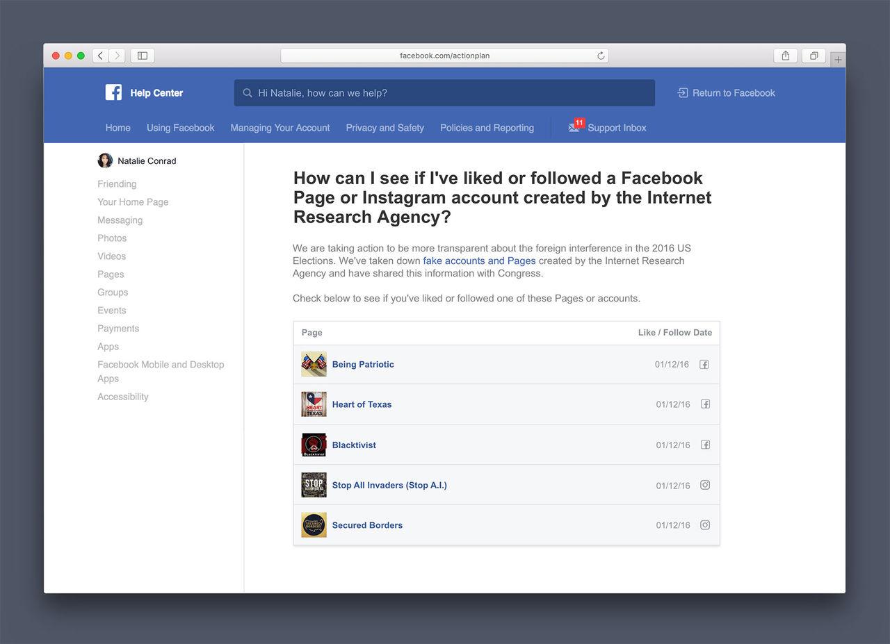 Facebook kommer meddela användare som gillat fejk-sidor