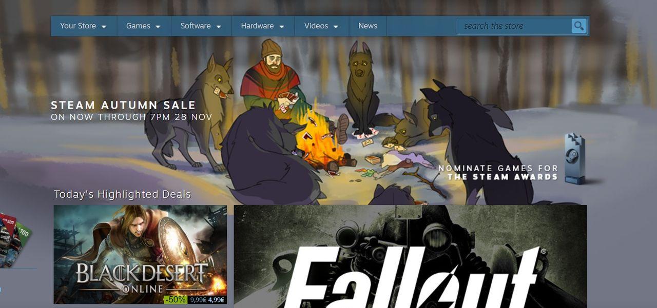 Valve drar igång stor höstrea på Steam