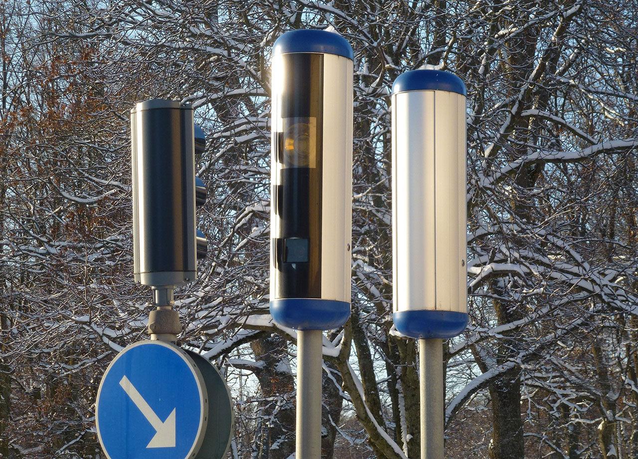 Mobil fartkamera lukrativ - drog in 102 000 danska kronor