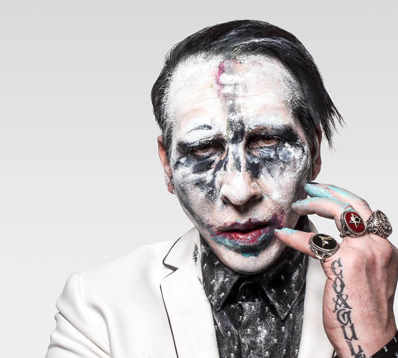 Marilyn Manson kommer tillbaka till Gröna Lund