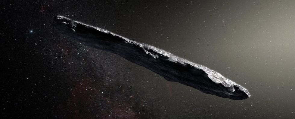 Astronomer vill skicka sond till asteroiden Oumuamua