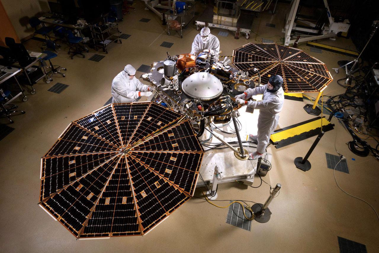 NASA:s InSight-farkost åker till Mars nästa år