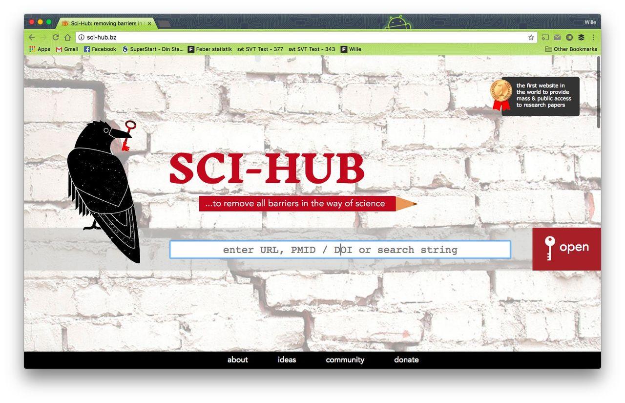 Sci-hub blir av med ytterligare domännamn