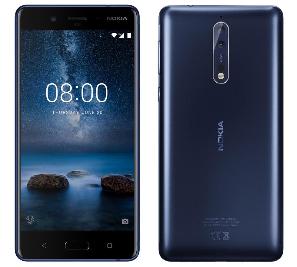 Nu kommer Android 8 till Nokia 8