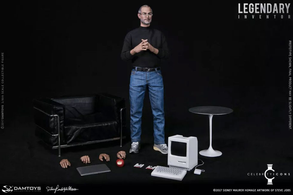 Steve Jobs som actionfigur
