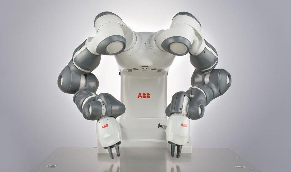 ABB och Kawasaki ska bygga robotar ihop