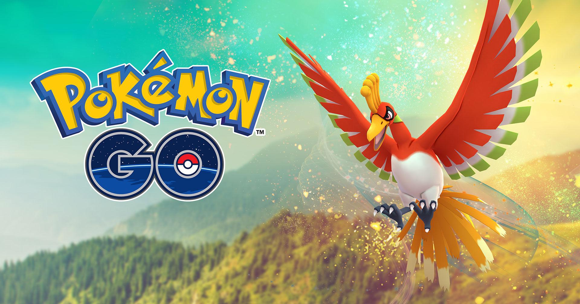 Legendariska pokémonen Ho-Oh släppt till Pokémon Go