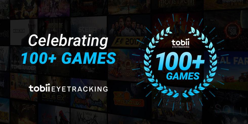 Tobiis eyetracking-funktioner finns nu i över 100 spel