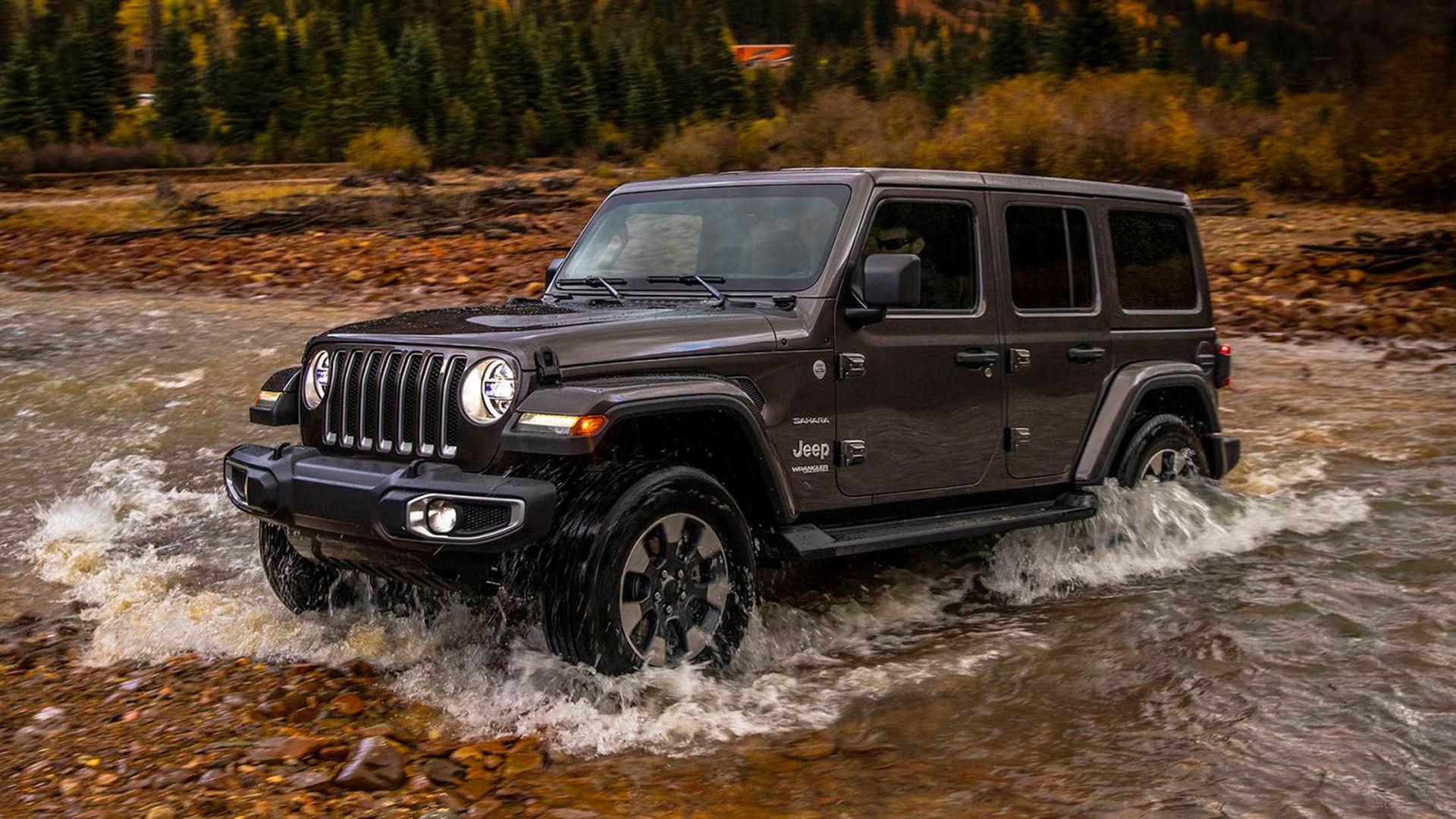 Nu är nya Jeep Wrangler här på riktigt