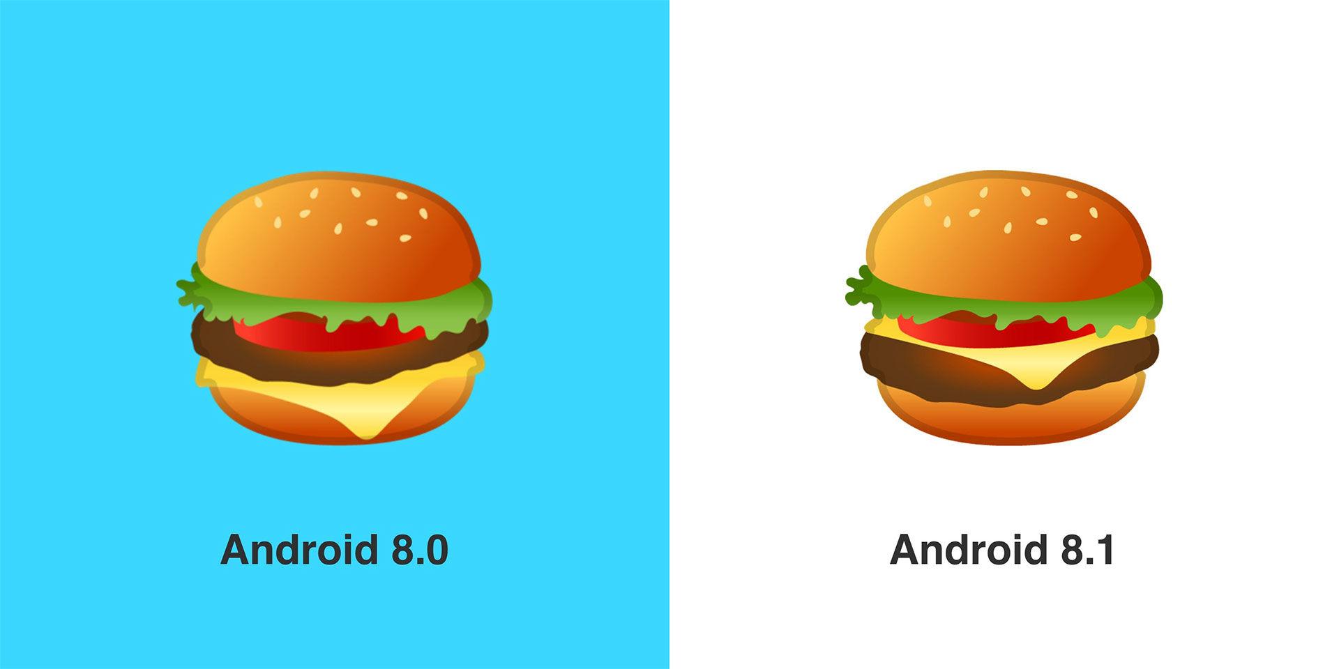 Google fixar hamburgeremoji!