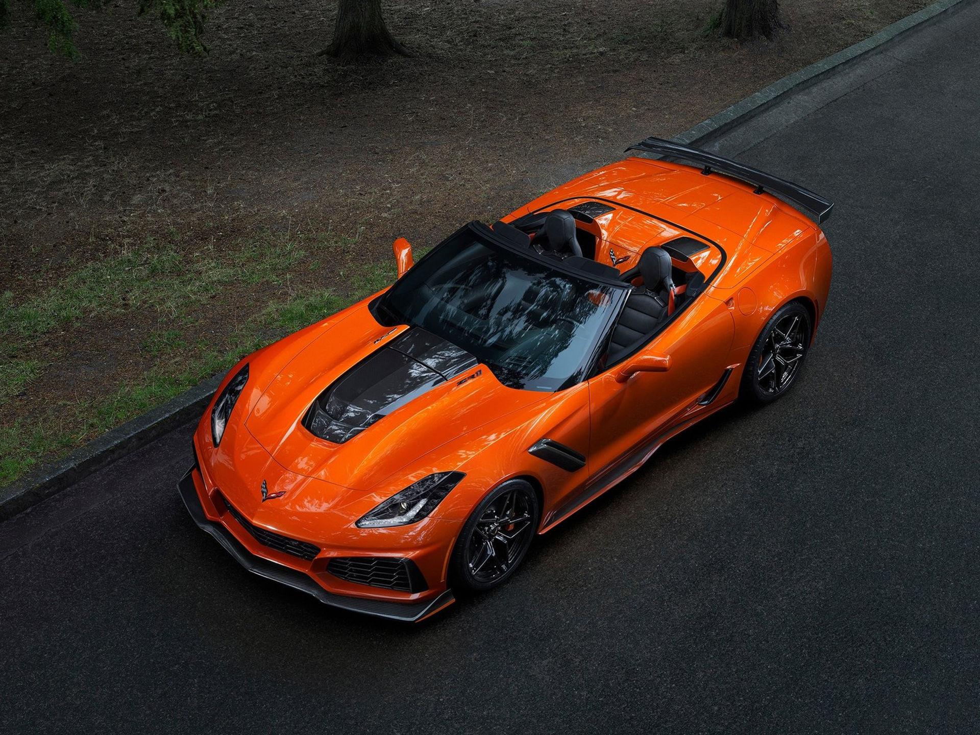 Nya Chevrolet Corvette ZR1 presenteras som cabriolet