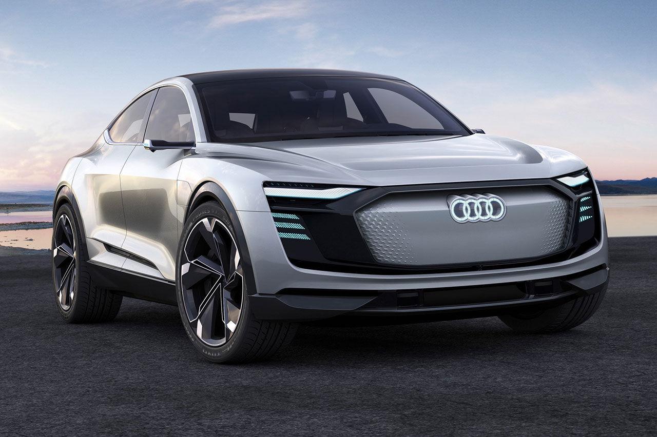 Audi bekräftar ytterligare två eldrivna suvar