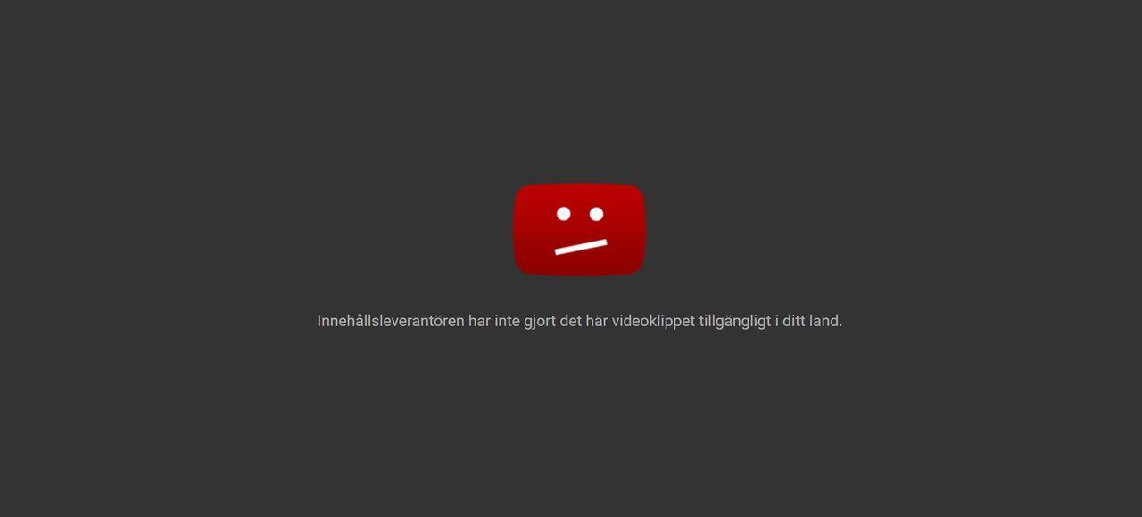 Kringgå geoblockering med Chrome-tillägget F*ck Youtube