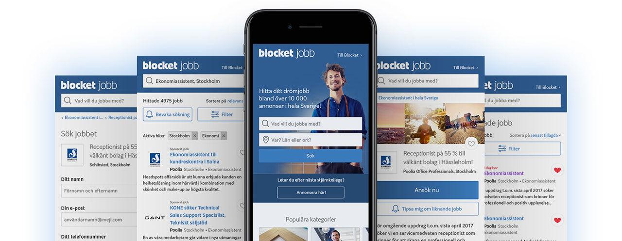 Blocket Jobb lanserar ny sajt