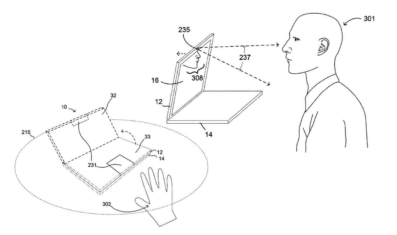 Google tar patent på motoriserad laptop-skärm