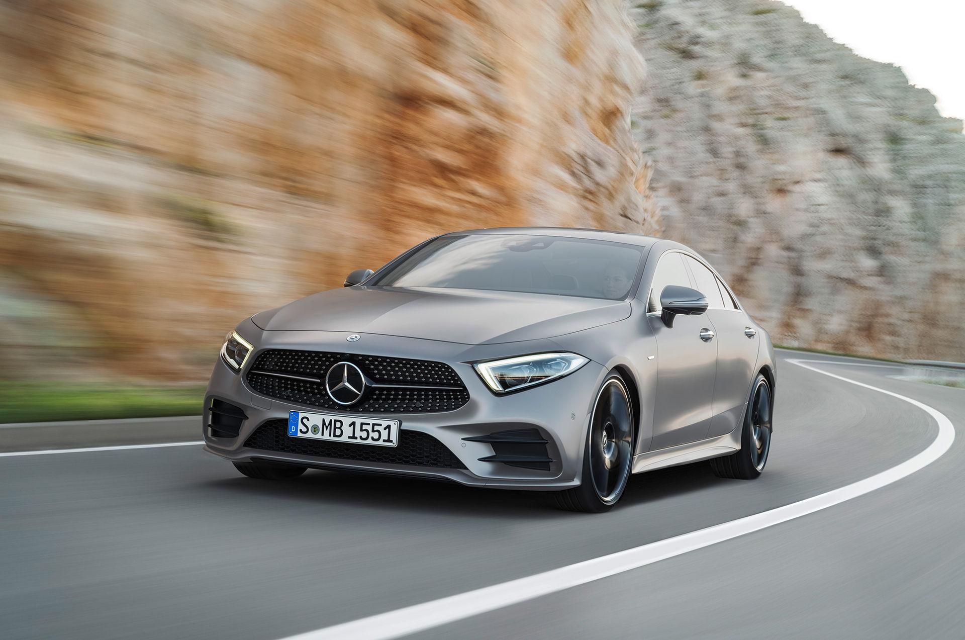 Tredje generationen Mercedes CLS är här