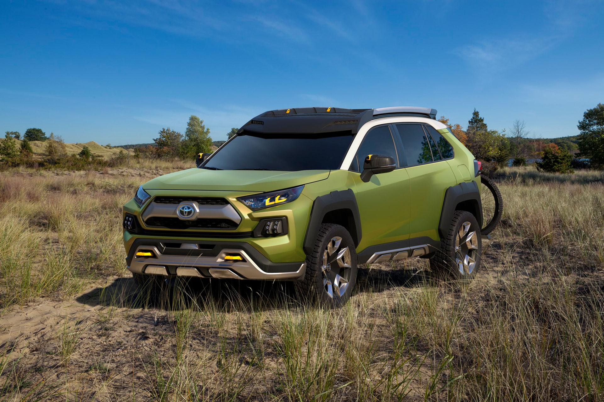 Toyota visar äventyrsbil för framtiden