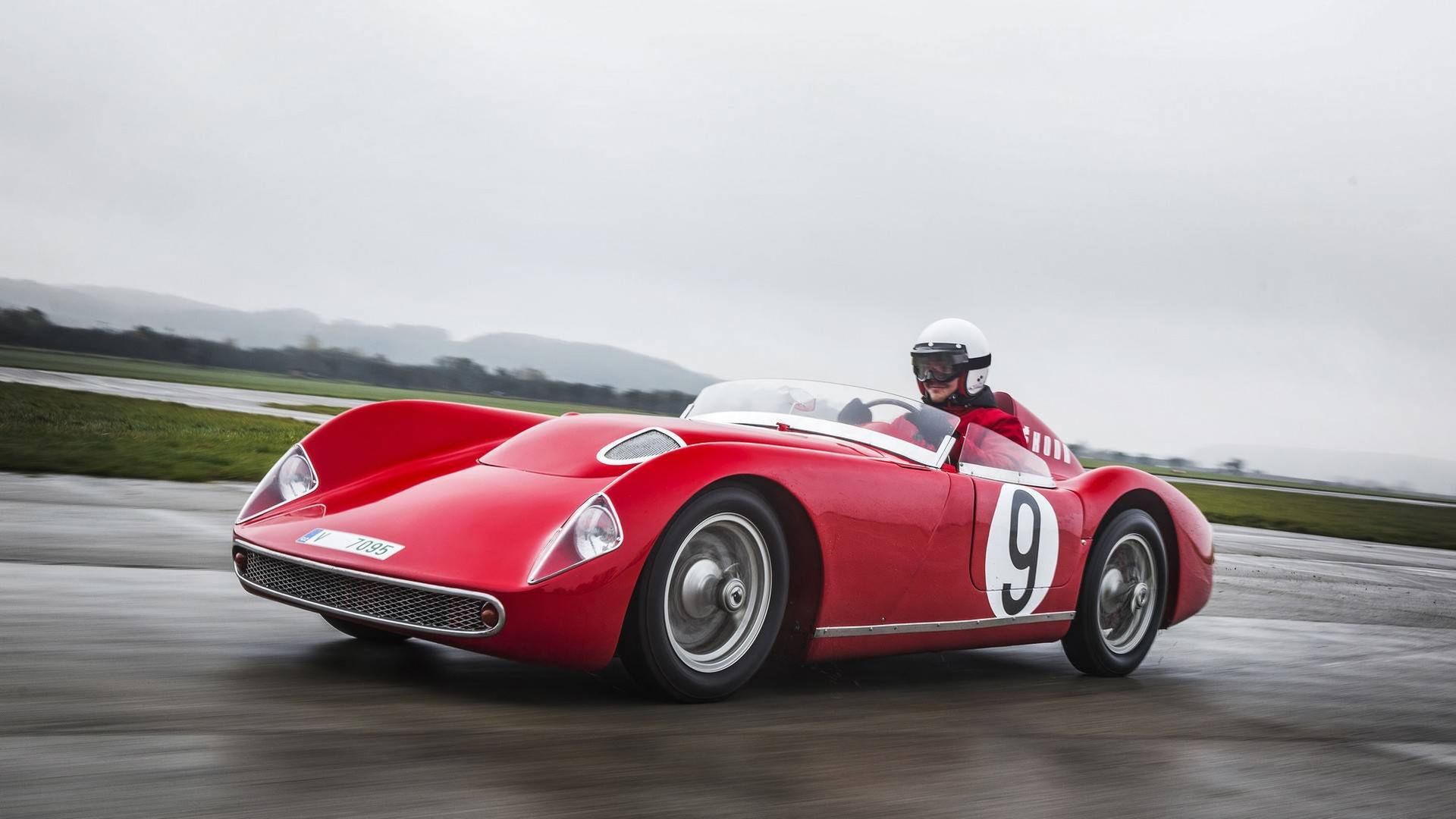 Skodas sportbil 1100 OHC fyller 60 år