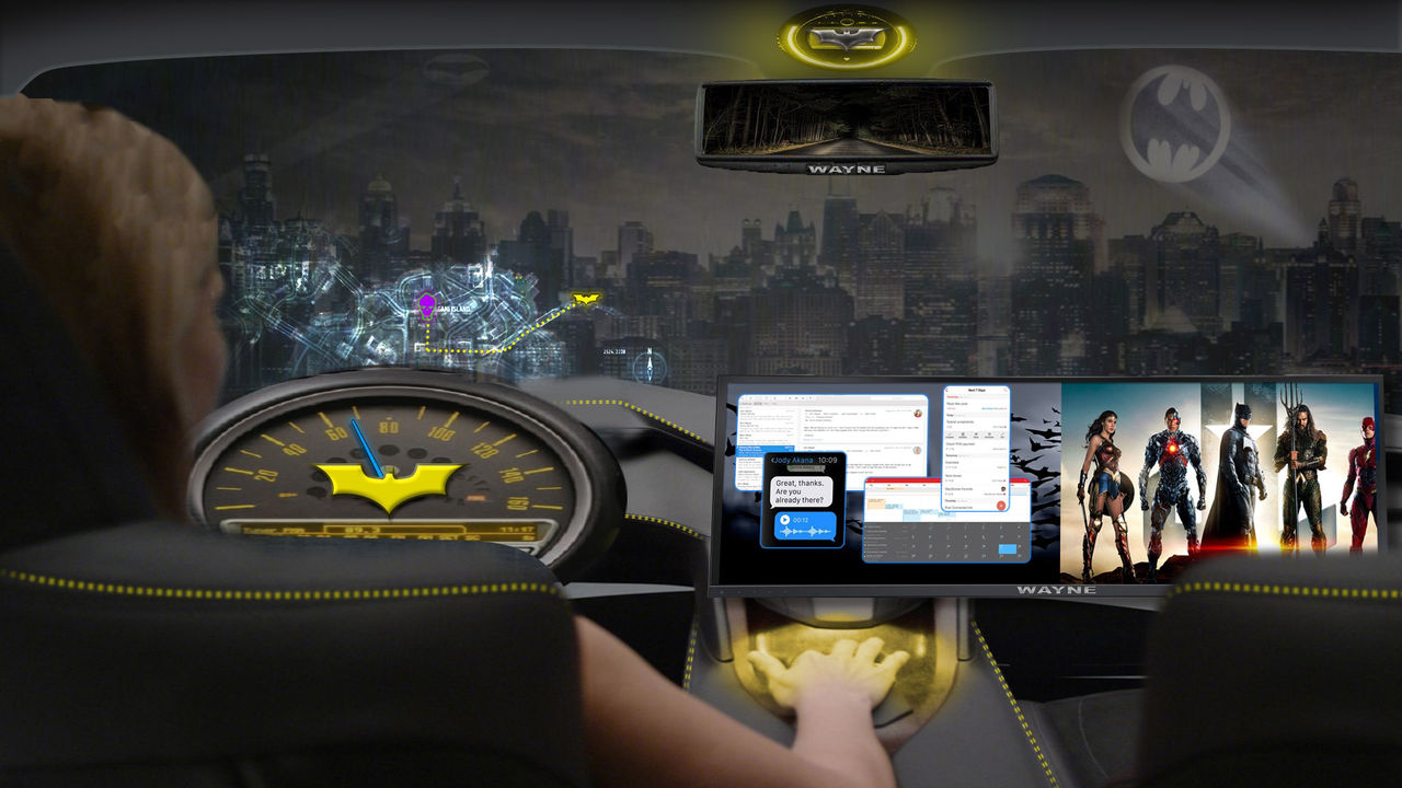 Intel och Warner ska fixa underhållning till självkörande bilar