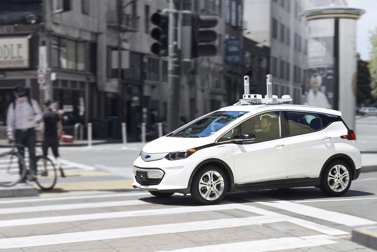 GM planerar att lansera autonom taxi-flotta 2019