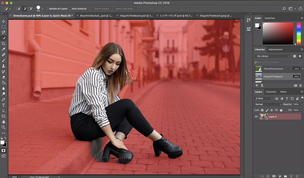 Photoshop använder AI för att markera saker i bilder