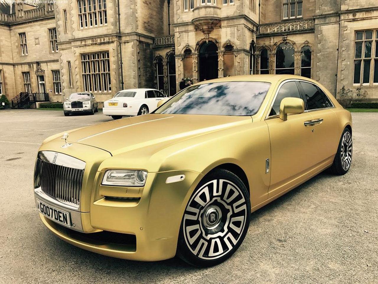 Snubbe säljer sin Rolls-Royce för Bitcoins