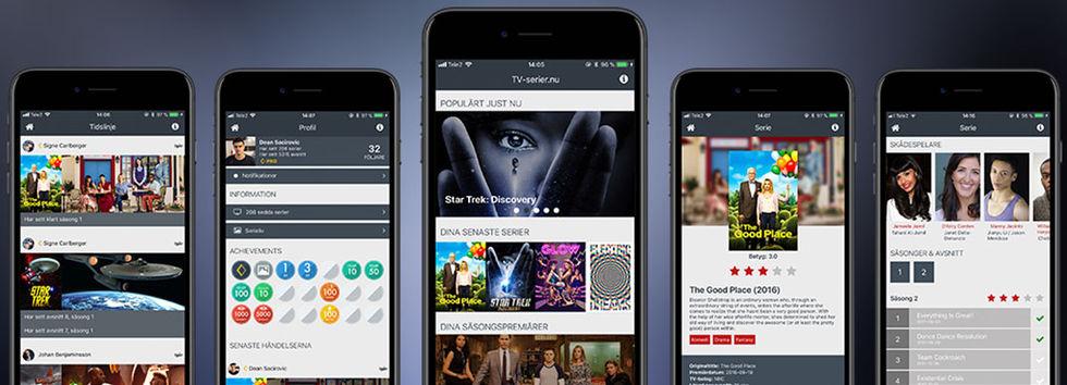 TV-serier.nu lanserar app till iOS