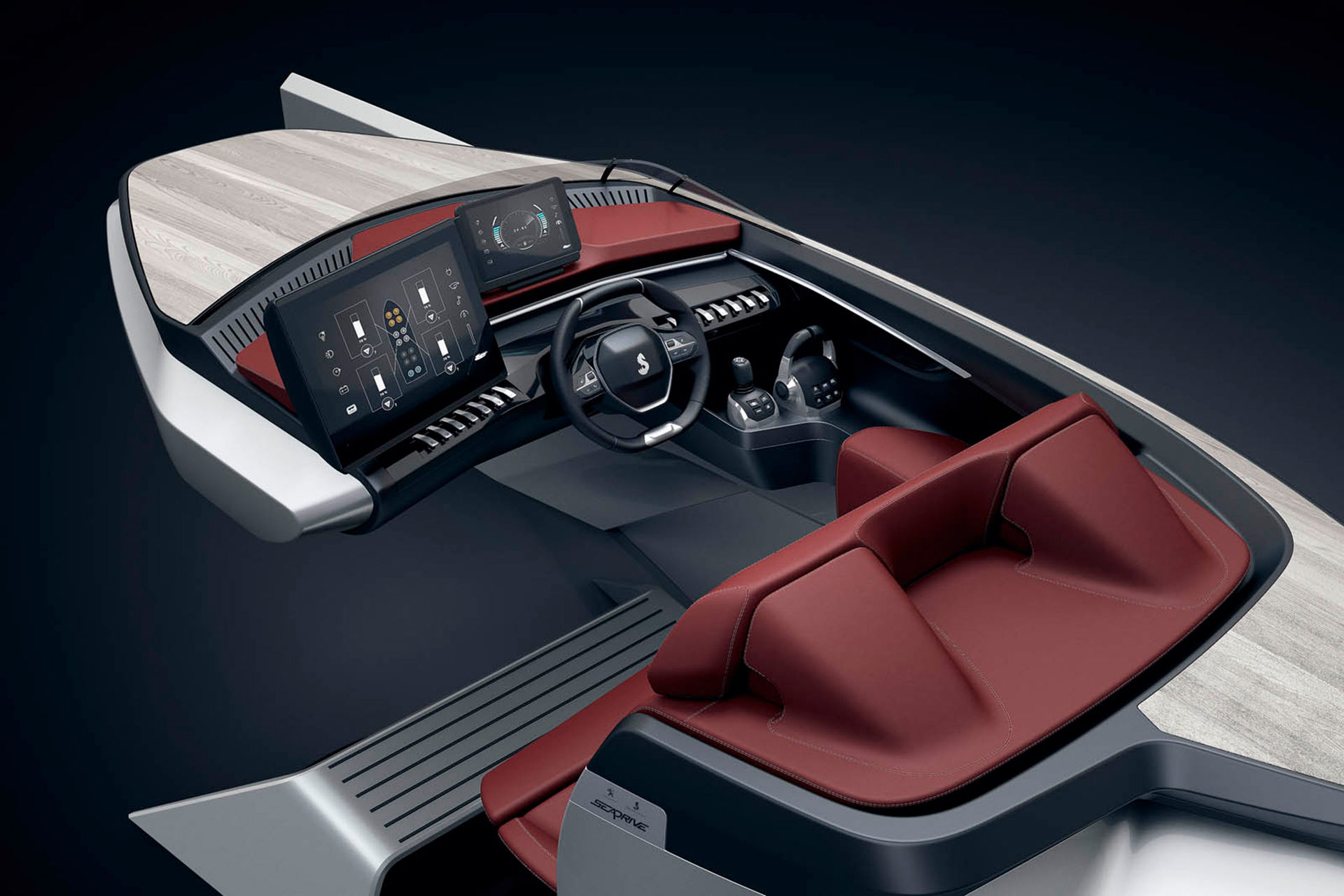 Peugeots i-Cockpit i båtformat