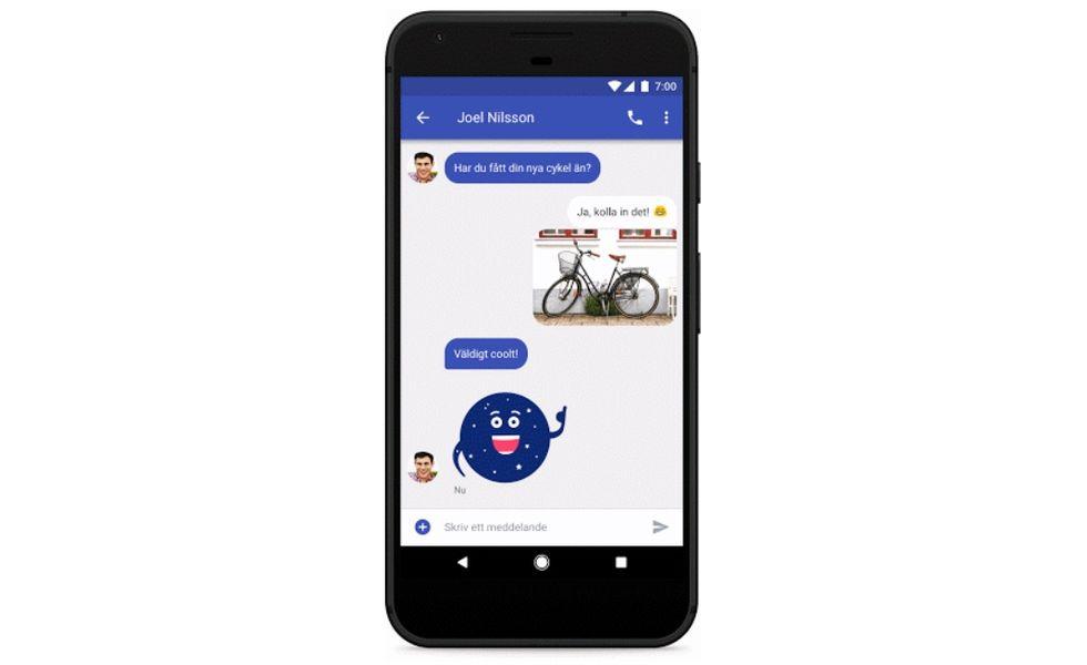 Nu kan Telia-kunder skicka RCS-meddelanden