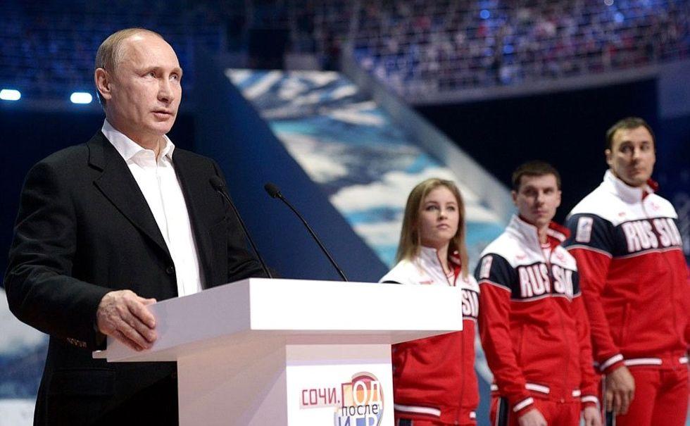 Ryssland portas från OS