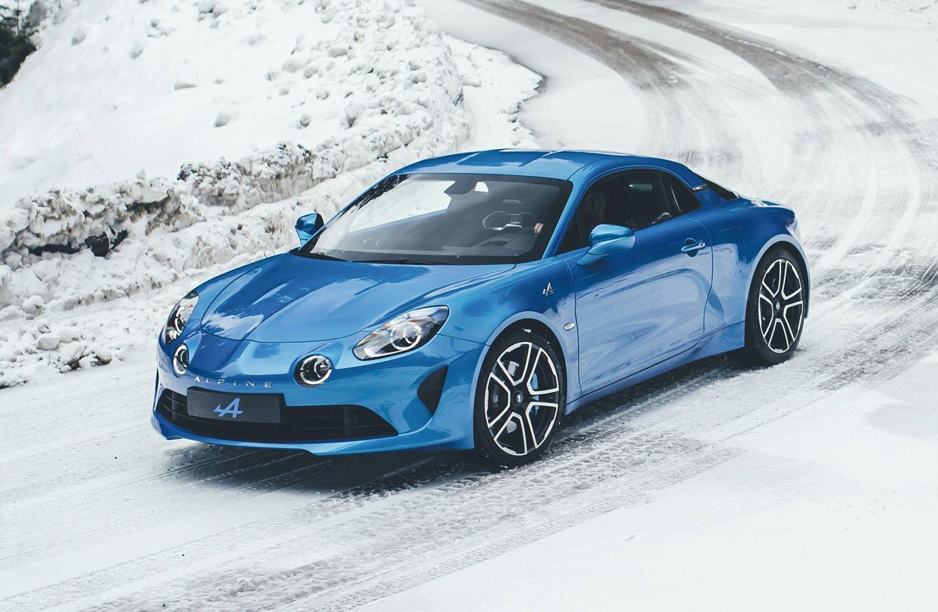 Vassare version av Alpine A110 är på gång