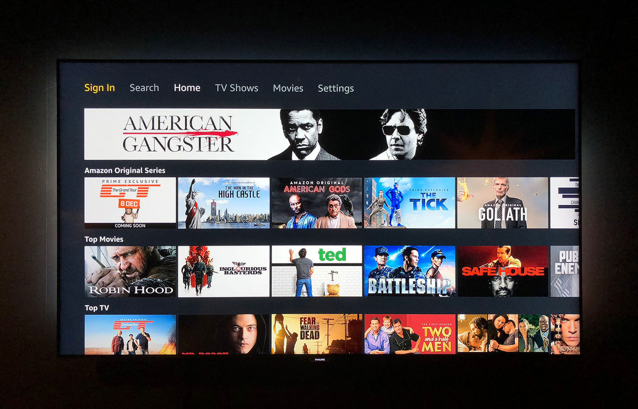 Nu finns Amazon Prime Video till Apple TV