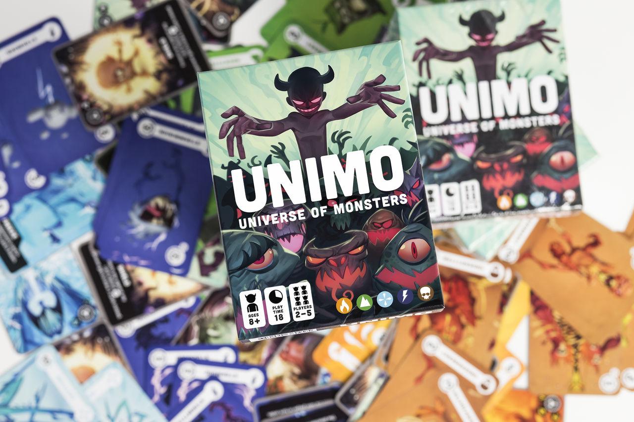 Svenska kortspelet UNIMO ute nu